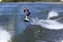 Wakeboard med CAS