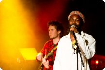 Öltält: Reggae-kväll