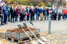 Första spadtaget Kårhus på landet