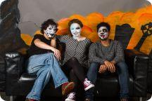 Halloweenkalaset: Studion
