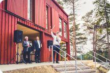 Invigning Kårhuset på Landet