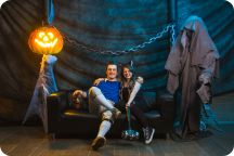 Halloweenkalaset Studio